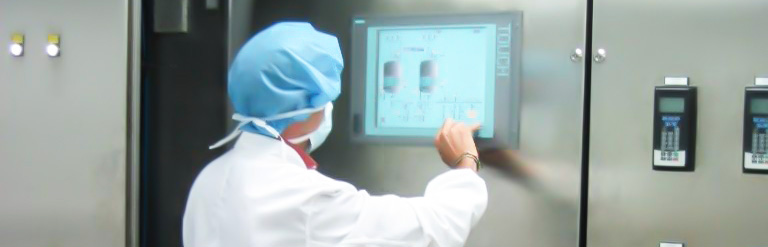 Pharmaceutical Industry. Scada Operator - Bram-Cor Equipment